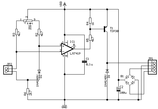 Six Channel Mixer And Amplifier