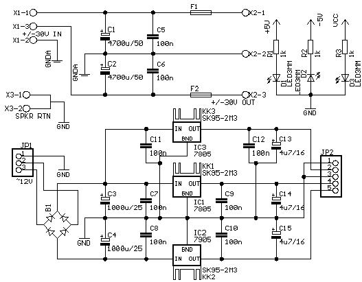 Схема блока питания компьютера 450w real power
